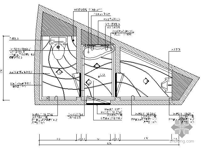 豪华娱乐会所标准卫生间装修图