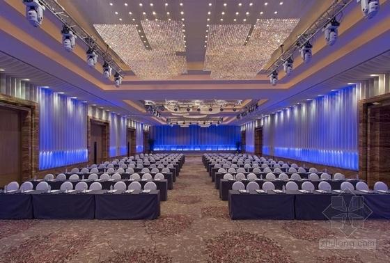 [浙江]全球国际化金融中心高档现代风格综合性酒店装修施工图(含效果)贵宾厅效果图