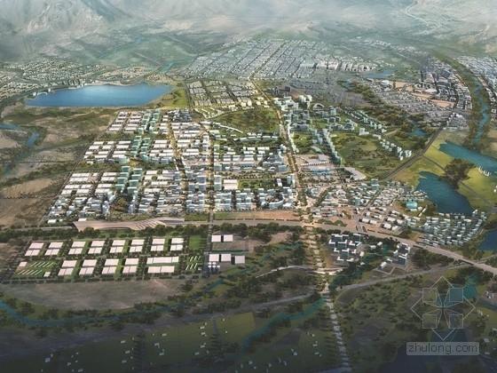 [新疆]城市规划及单体设计方案文本