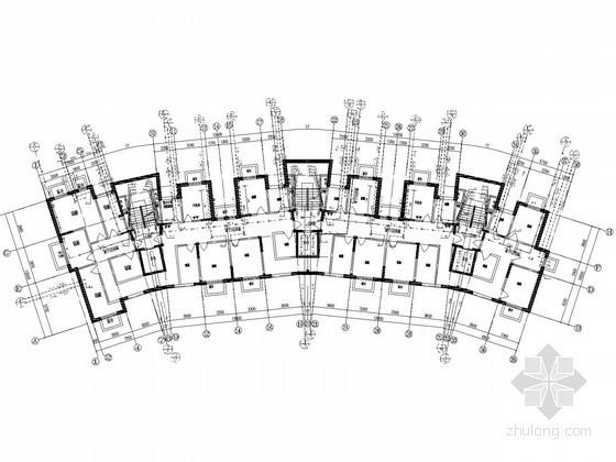 [山东]一类高层居住建筑给排水消防施工图