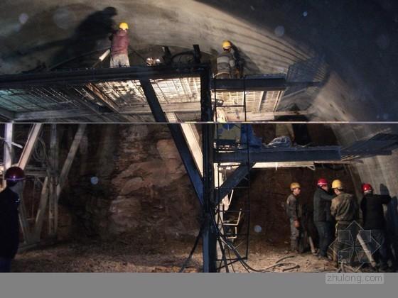 高速公路隧道光面爆破施工技术
