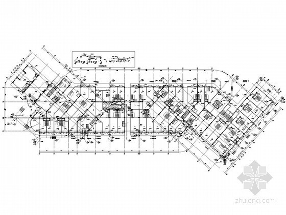 [广东]二十八层商业建筑给排水施工图