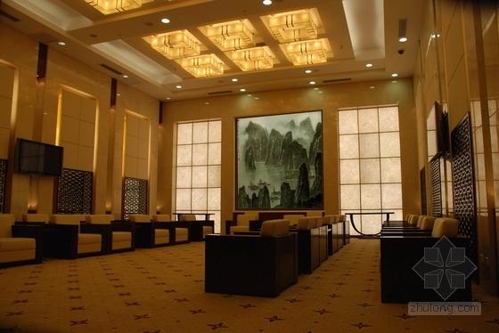 [广东]独创省级国家权力机关办公楼室内装修施工图(含实景)贵宾接待室实景图