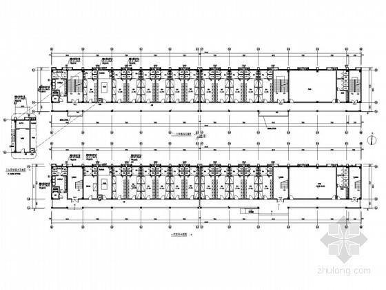 [湖南]某学校通风防排烟系统设计施工图(人防设计 建筑形式多样)