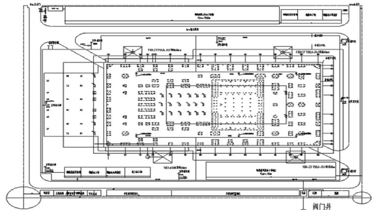 甘肃文化艺术中心场馆临水及消防施工方案(四层钢框架支撑+钢砼框剪结构)