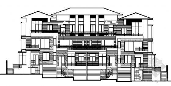 丹堤A区18、19号楼建筑施工图