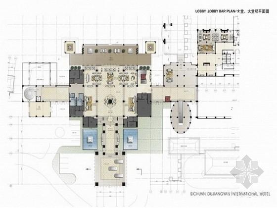[四川]国际高档豪华设施酒店概念设计图