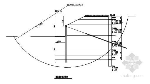 [云南]某工程基坑支护设计方案(放坡 桩锚 计算书 )