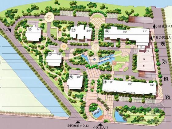 [杭州]商品住宅景观工程设计方案