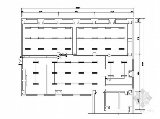 UPS插座布置资料下载-某机房全套电气施工图