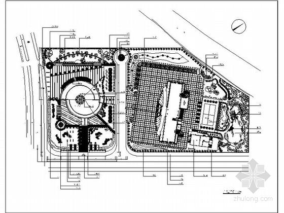 [浙江]某城市广场全套景观改造施工图(超级全面、详细)