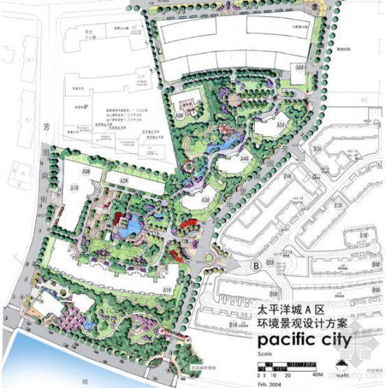 北京小区景观设计方案全套
