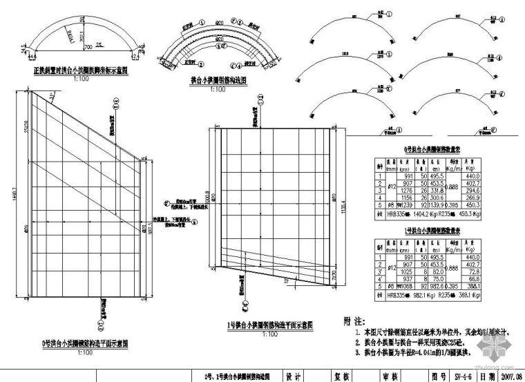 援尼泊尔某公路项目桥梁工程设计图