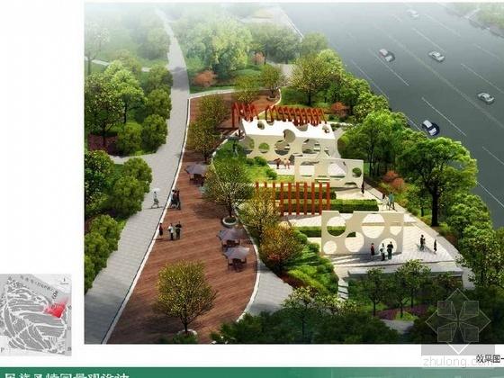 内蒙城区民族风情园景观设计