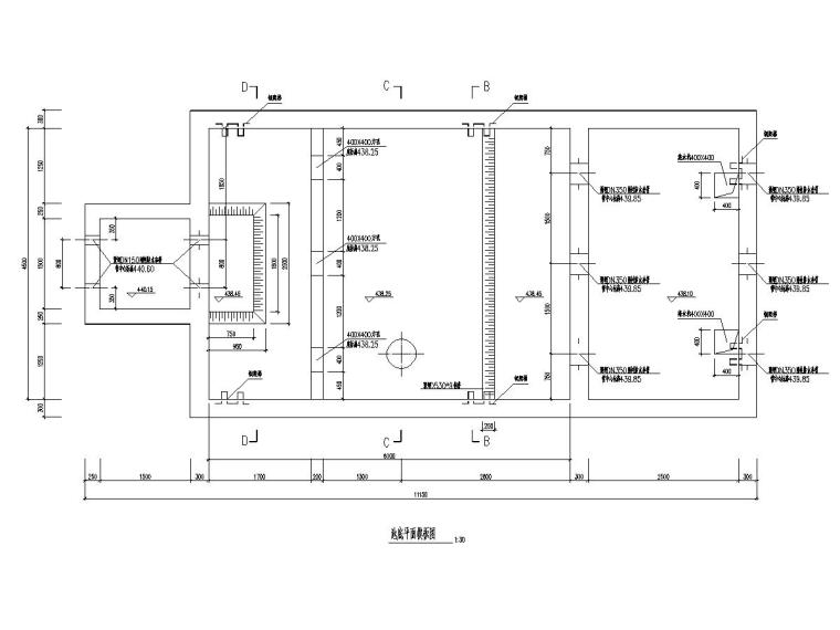 污水处理厂剩余及回流污泥泵池施工图