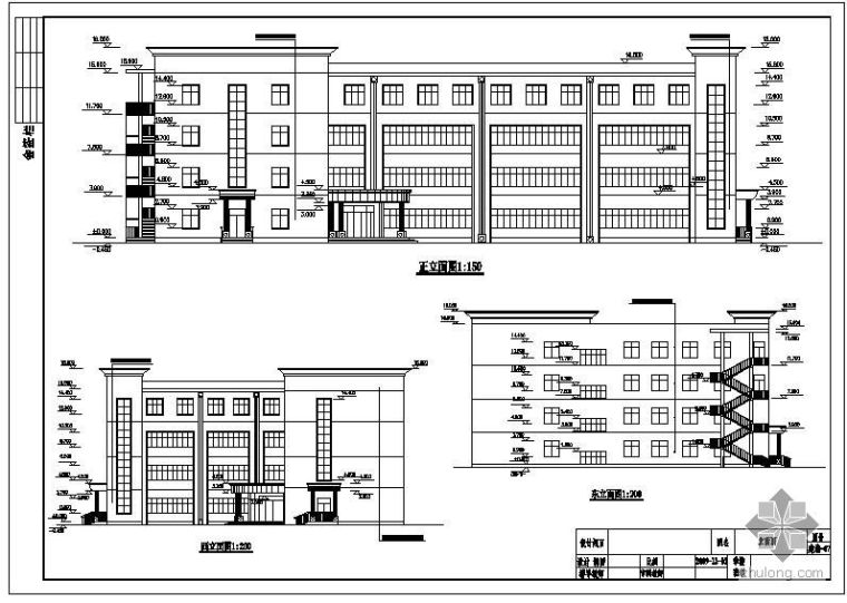 [学士]某培训中心教学楼毕业设计(含计算书、建筑结构设计图)