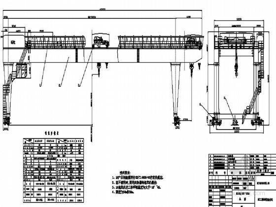 地铁盾构工程40T/15T龙门吊安装及拆卸专项方案34页
