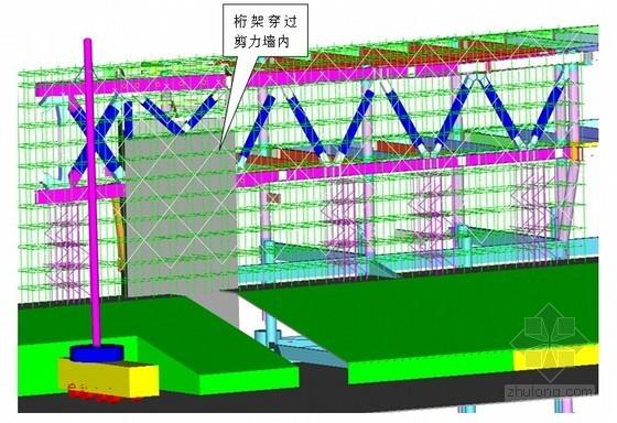 [河南]博物馆工程屋面钢架、钢桁架结构安装施工方案(三维效果图)