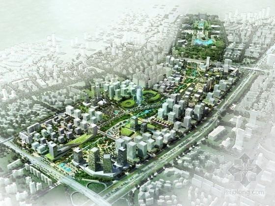 [广东]混合商业区规划及单体设计方案文本