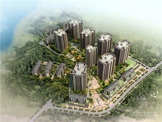[重庆]现代风格住宅小区规划设计方案文本(含CAD)