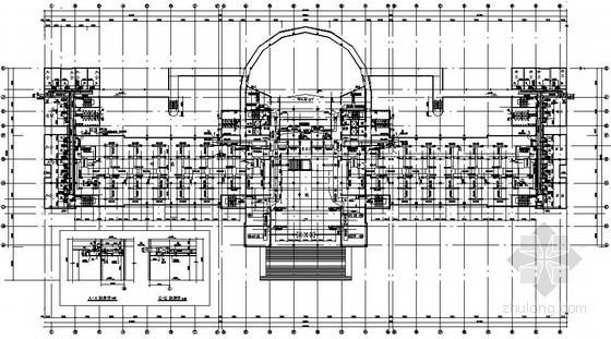 [湖北]图书馆中央空调工程竣工图纸(大样图多)