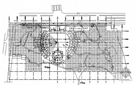 某小休闲广场景观工程竣工图