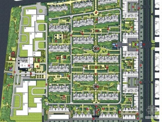 银川生态居住区景观设计方案