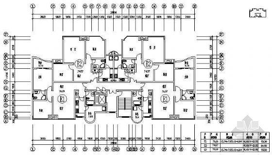 两室两厅一厨一卫79平米