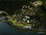 [合集]3套中式风格大型旅游度假区建筑设计方案文本