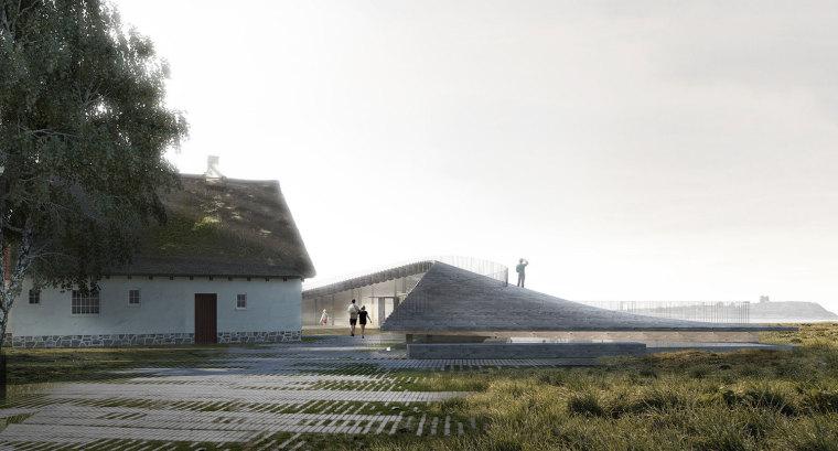 丹麦摩尔比尔吉国家公园游客中心