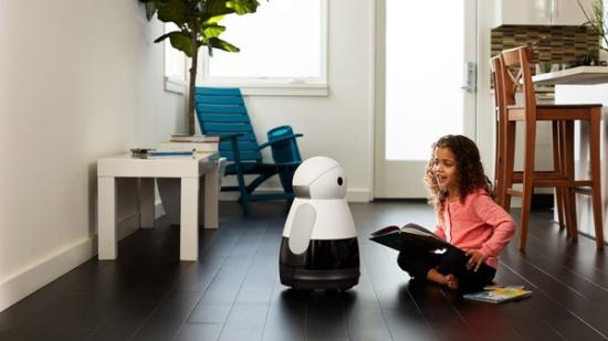 听话会干活还能聊天Kuri智能家居机器人