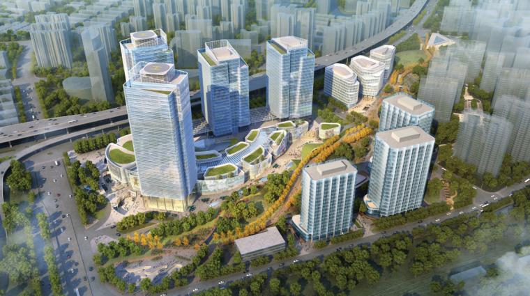 [上海]徐汇万科中心三期地库方案汇报