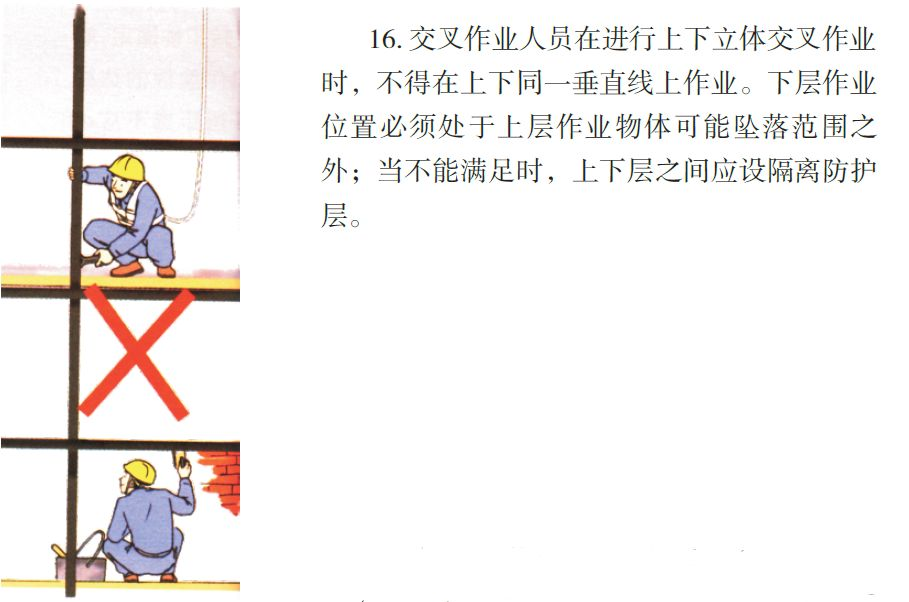 看完神奇的八个工种施工漫画,安全事故减少80%!_47