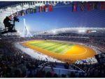 中柬友谊之帆——柬埔寨国家体育场项目在建