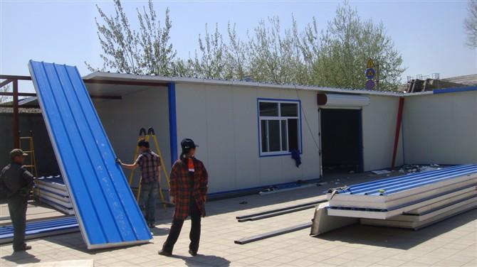 昌平区彩钢房搭建设计13911574425图片