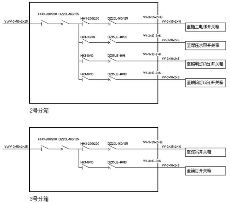 [贵州]框剪结构商住楼工程临时用电施工方案(95页)