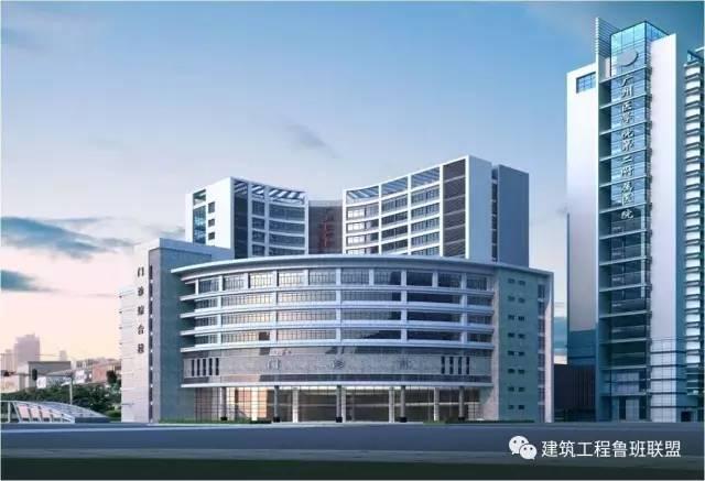 """看这个医院工程如何应用""""建筑业新技术""""?"""
