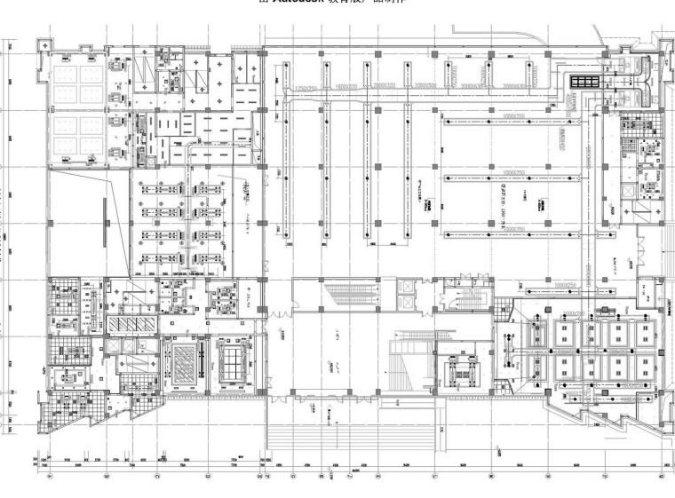 [浙江]多层城市展览馆空调通风系统设计施工图(采暖设计)