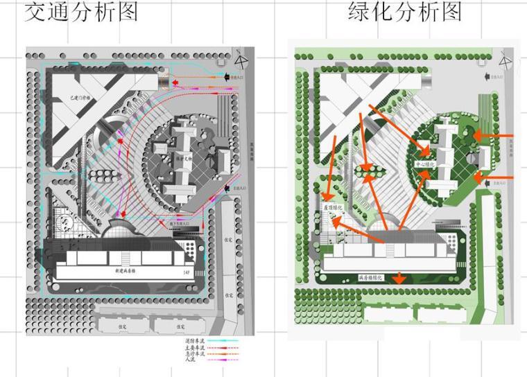 [河南]第一人民医院病房楼方案设计规划