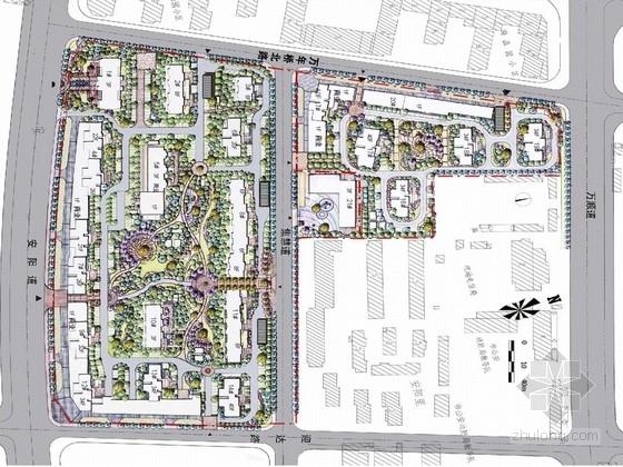 [天津]简欧融合海洋特色花园社区设计方案