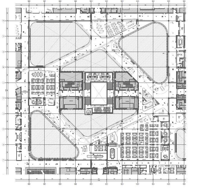 知名互联网公司北京总部电气装修施工图