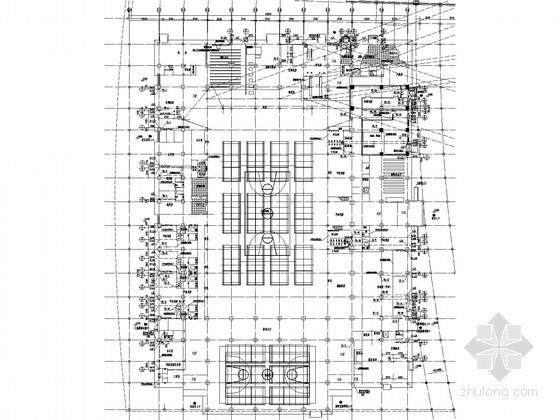 [西藏]体育馆给排水消防施工图(气体灭火 消防炮)