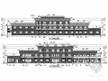 [重庆]三层框架结构村委会及幼儿园综合楼结构施工图(含建筑图)