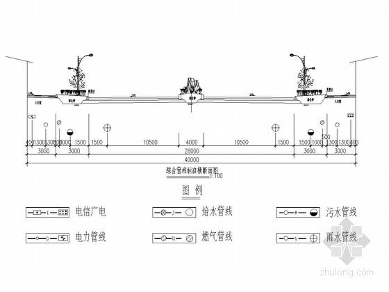 [四川]城市主干道排水管线工程施工图设计80张