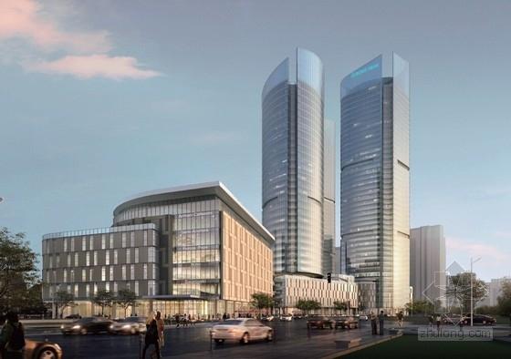 [上海]超高层高品质金融服务中心规划设计方案文本(LEED城市综合体)