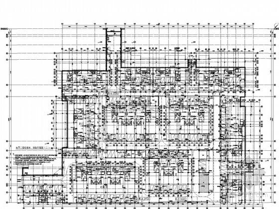 [深圳]联排叠拼多户型高档住宅小区给排水竣工图纸(太阳能系统 中水系统)