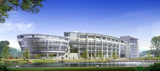 [上海]大学校园规划及单体设计方案文本(含cad)