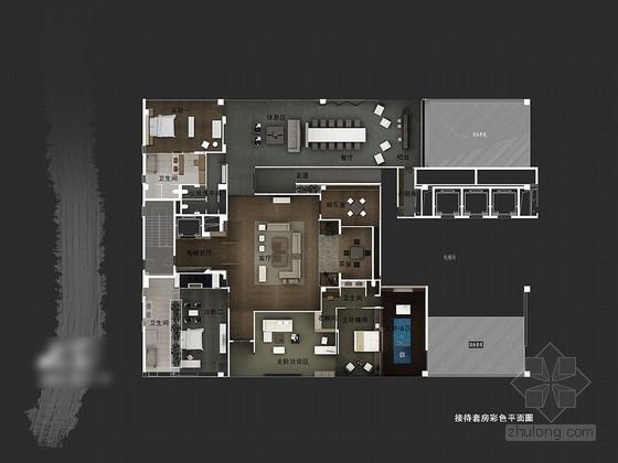 [江苏]新中式接待中心室内设计方案文本