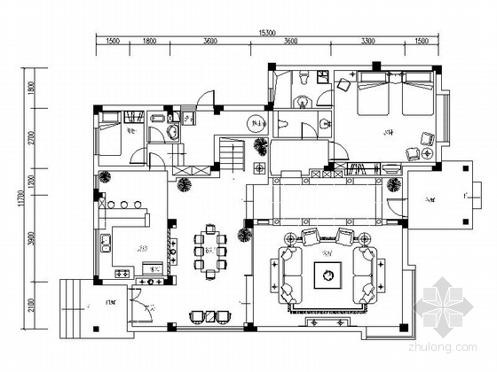 [成都]高档社区三层别墅欧式风格装修图(含实景图)