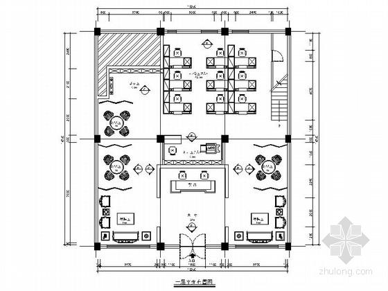 [浙江]小型投资公司新中式工作室施工图